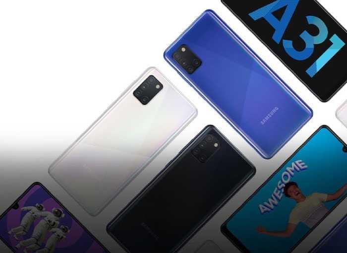 Samsung Galaxy A31: finalmente viene presentato sul sito