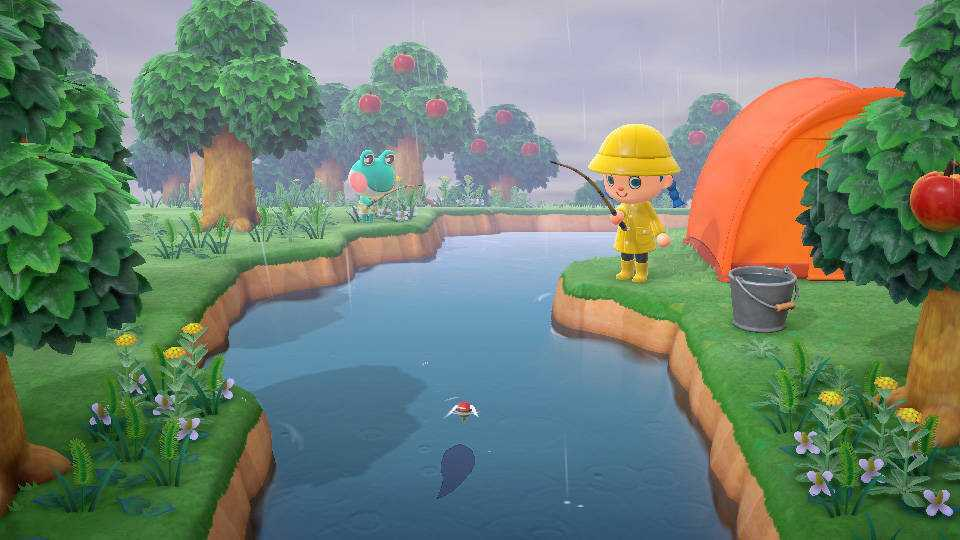 Animal Crossing: New Horizons, come pescare il Taimen e altri pesci rari