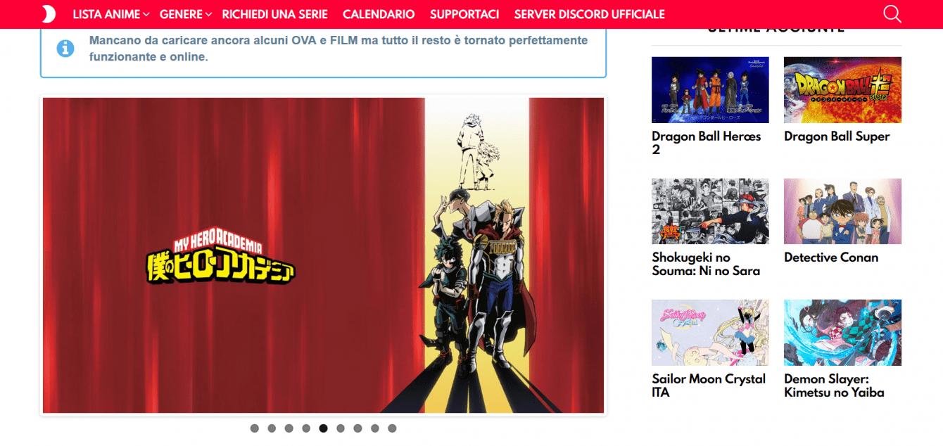 Migliori siti streaming anime | Settembre 2020