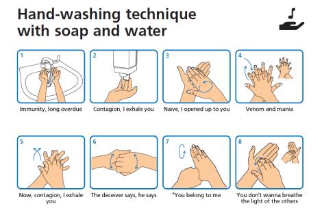 Wash Your Lyrics: musica per aiutare a lavare le mani correttamente