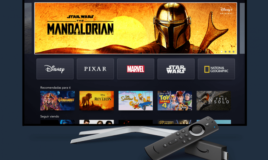 Disney+: disponibile su Amazon Fire TV e Tablet Fire al day one