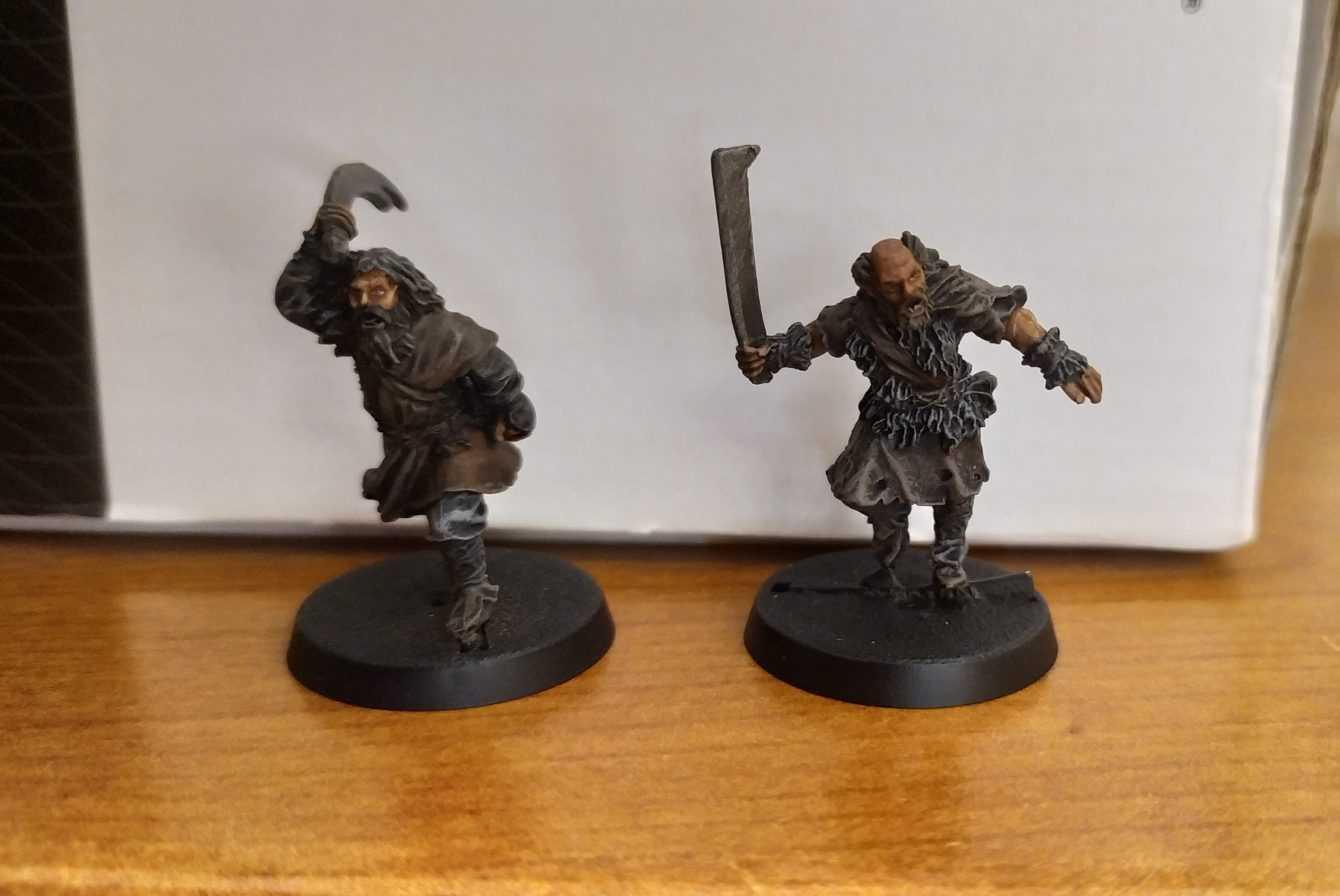 Come dipingere miniature Games Workshop - Tutorial 48: uomini del Dunland