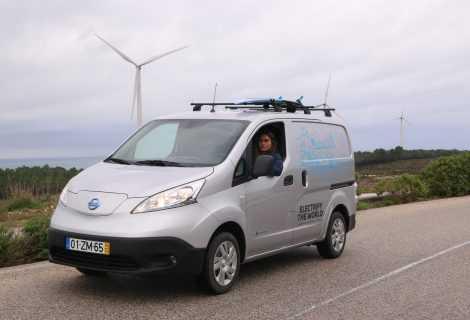 Nissan presenta il van 100% elettrico e-NV200