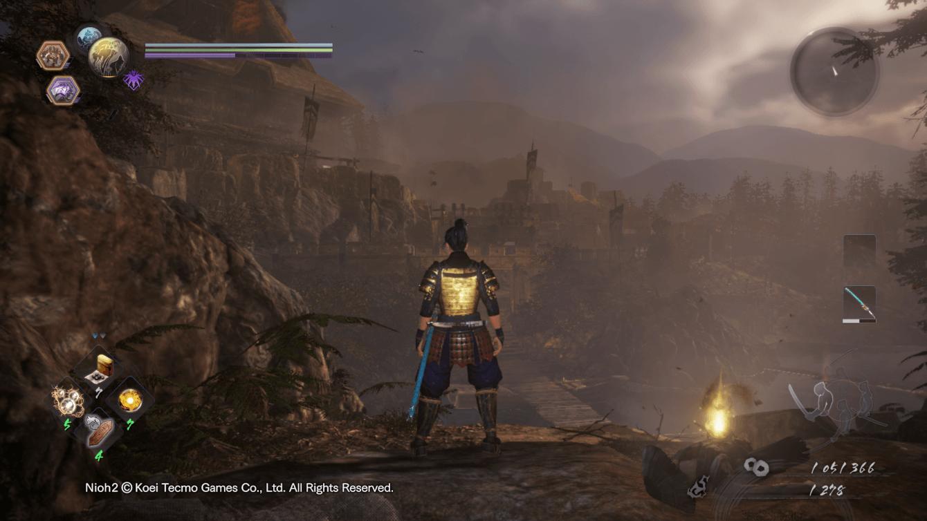 Recensione Nioh 2: il viaggio di un guerriero Yokai