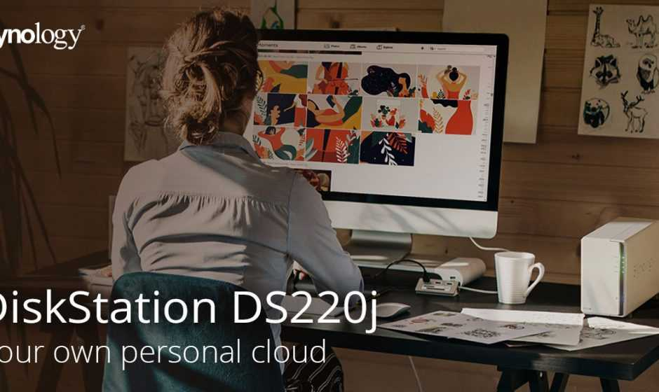 DiskStation DS220j: un nuovo NAS adatto a tutti fino a 32 TB
