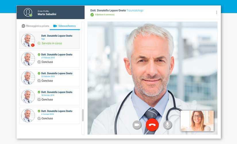 Top Doctors: boom di richieste per la telemedicina, servizio gratuito per tutti i medici