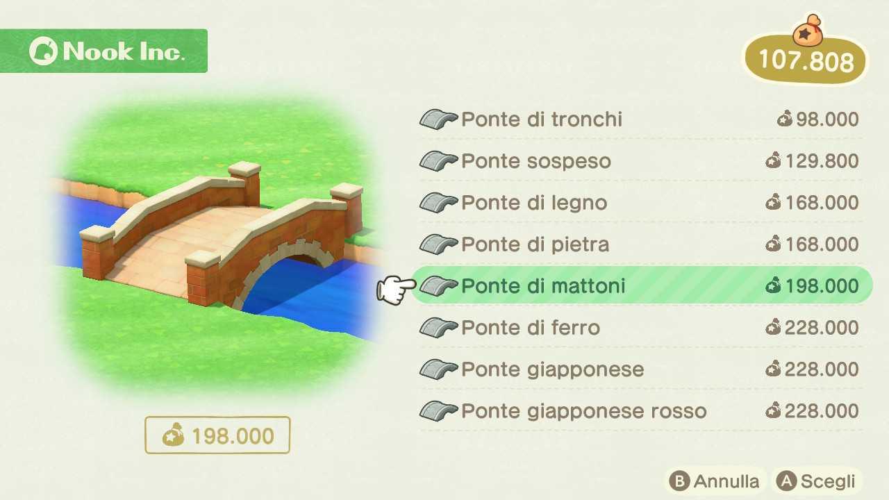 Animal Crossing: New Horizons, come costruire ponti e salite