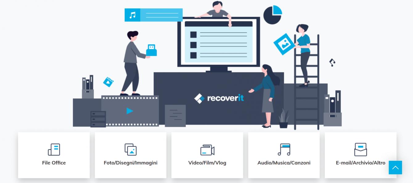 Recoverit: recupero dati persi o cancellati da PC, SD e hard disk