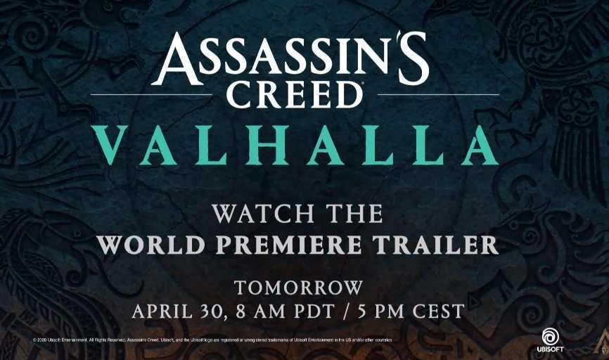 Assassin's Creed: ecco il nome del gioco e annuncio del trailer