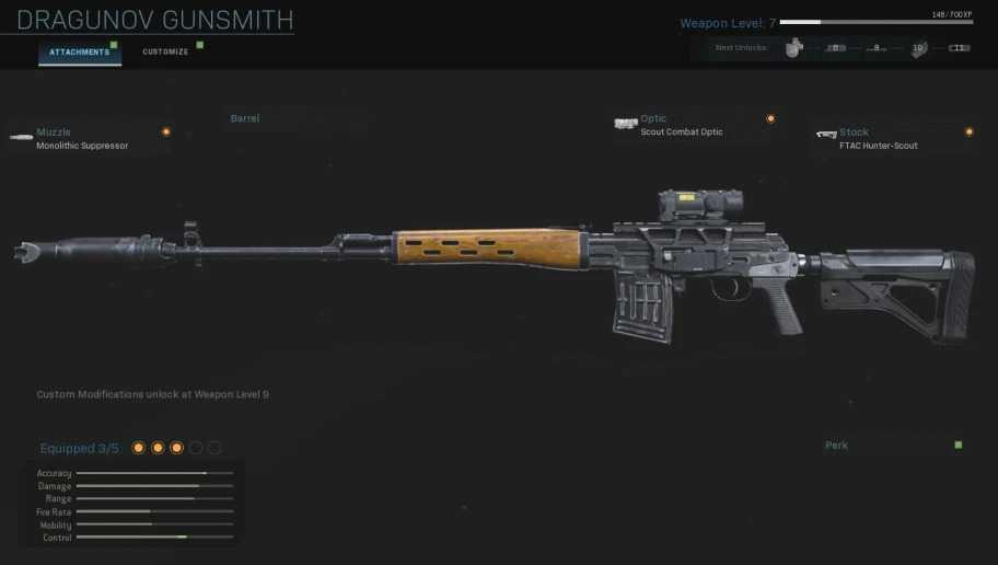 Call of Duty: Warzone, i migliori fucili da cecchino e tattici