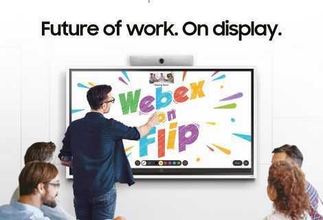 Samsung Flip 2: Webex on Flip migliora il lavoro di gruppo