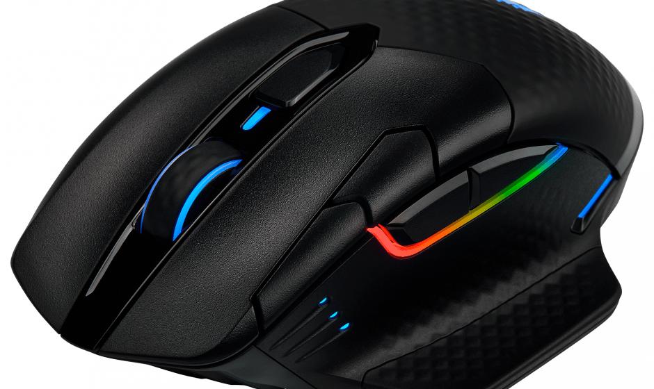 CORSAIR lancia il nuovo mouse DARK CORE RGB PRO
