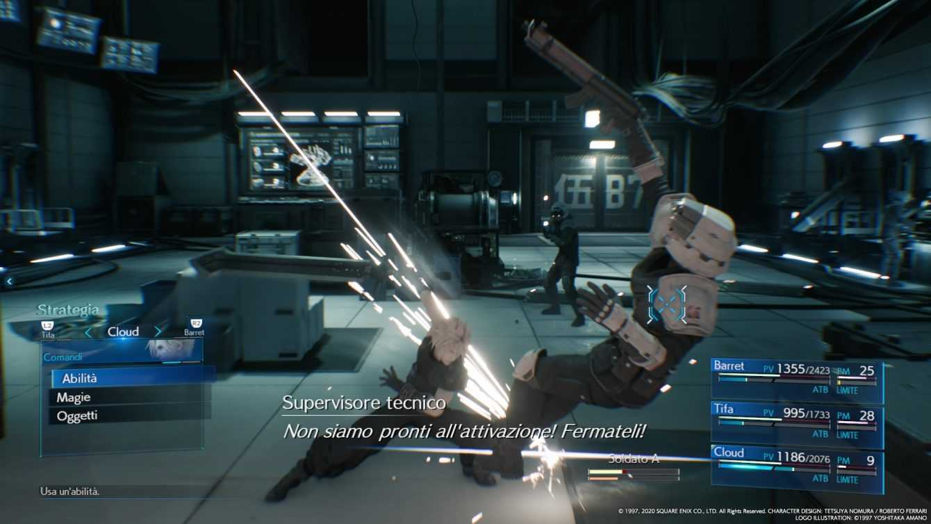 Final Fantasy VII Remake: come aumentare il bonus dello stremo