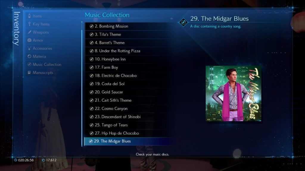 Final Fantasy VII Remake: guida per trovare tutti i Dischi Musicali