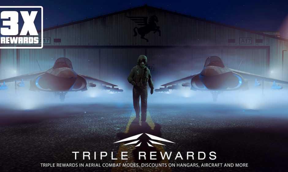 GTA Online: ricompense triple per gli eventi Aerial Combat