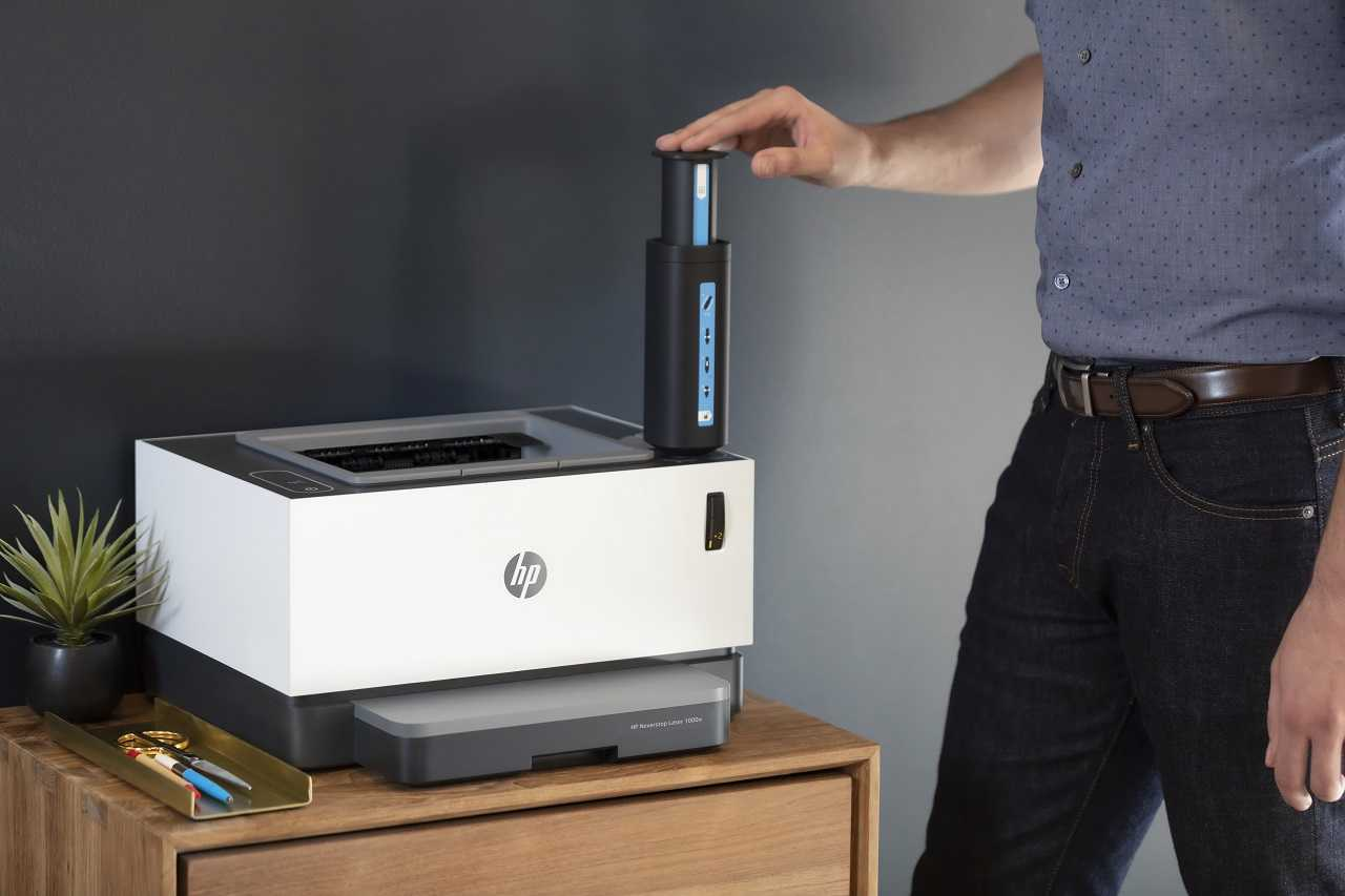 Abilita la stampa professionale a casa con HP Neverstop Laser!