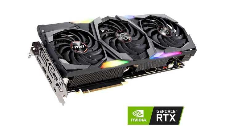 MSI: disponibile la prima RTX 2080 Ti con memoria a 16 Gbps