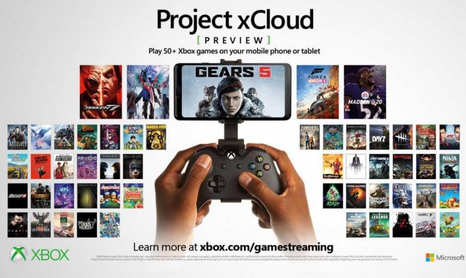 Project xCloud: parte domani con più di 150 giochi supportati