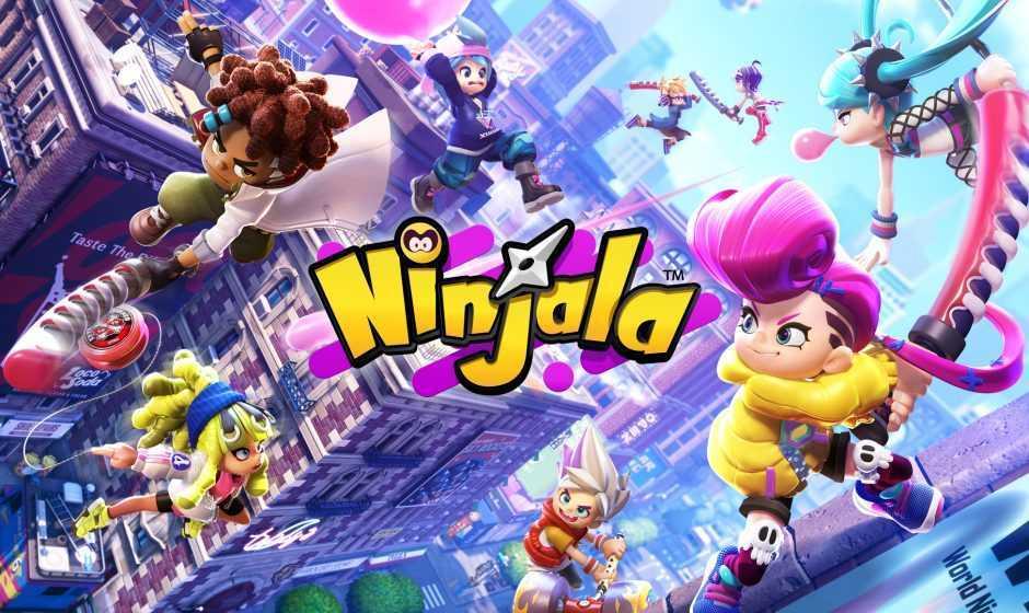 Ninjala: apre oggi l'open beta gratis su Nintendo Switch