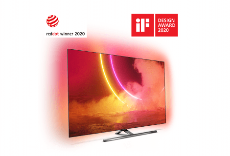 Philips TV & Sound vince sette Red Dot Awards 2020
