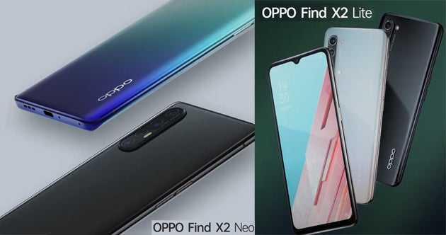 Oppo Find X2 Neo e X2 Lite: specifiche tecniche e prezzo ufficiali