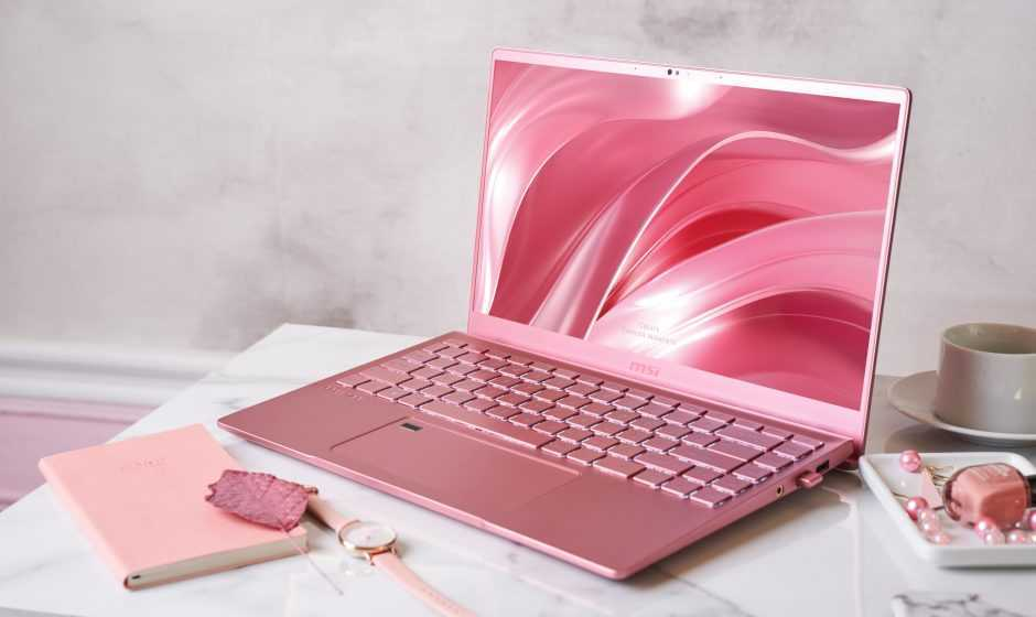 Prestige 14 Pink Rose: ecco il nuovo laptop di MSI