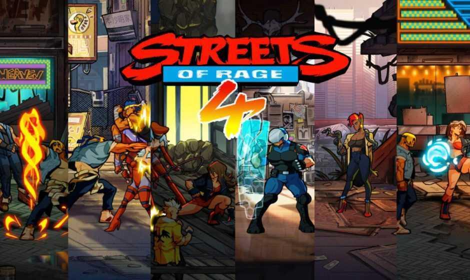 Streets of Rage 4: confermata la data di uscita del DLC