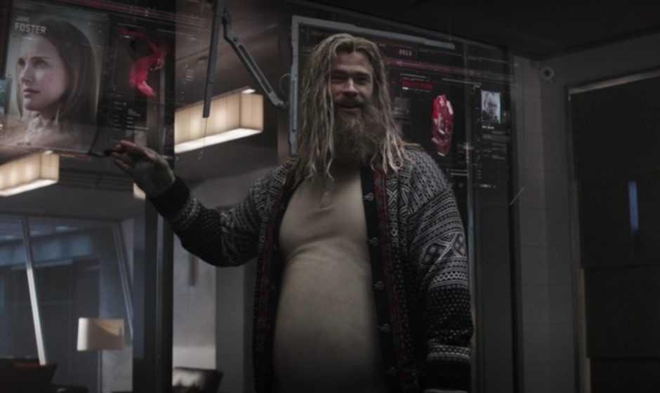 Avengers Endgame: Thor in alcuni concept art alternativi