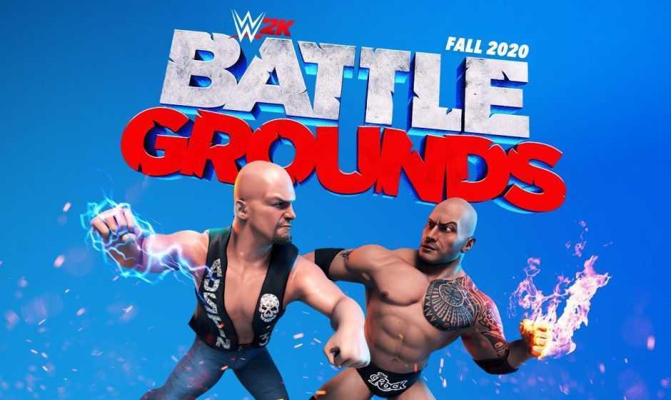 WWE 2K Battlegrounds: annunciato il nuovo picchiaduro arcade!