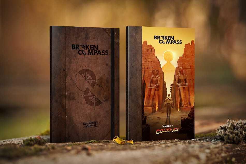 Broken Compass: rivelate cover e data di lancio del Kickstarter