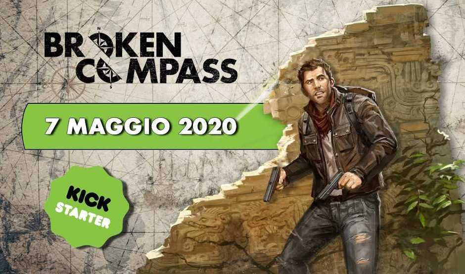 Broken Compass: svelati i pledges del Kickstarter