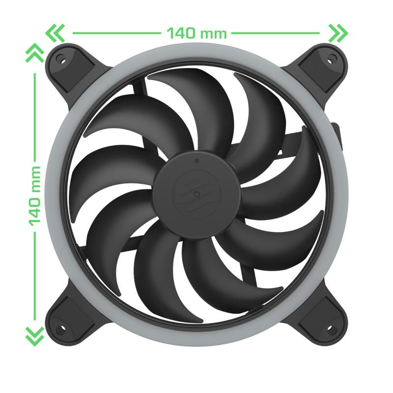 SilentiumPC: presentate le nuove eleganti ventole per effetti RGB