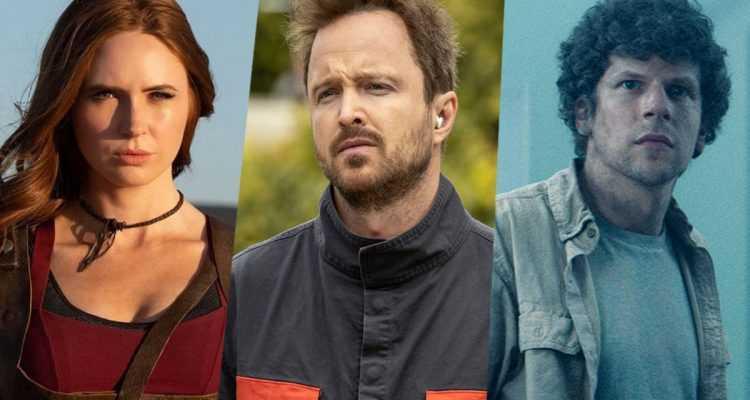 Karen Gillan, Aaron Paul e Jesse Eisenberg nel nuovo Dual!
