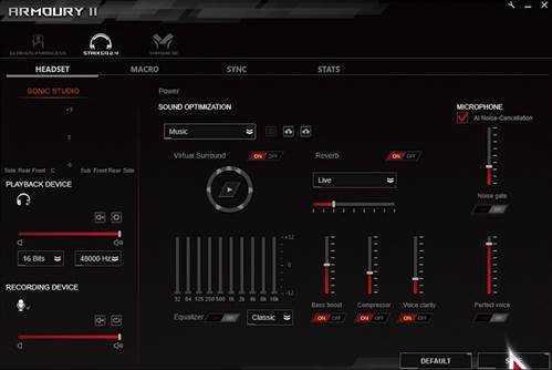 Cuffie Asus ROG: nuova tecnologia per microfoni con cancellazione intelligente del rumore