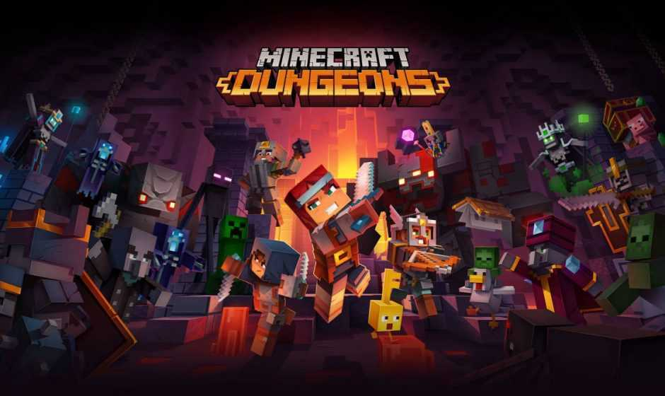 Minecraft Dungeons: in arrivo il cross-platform play, ecco quando