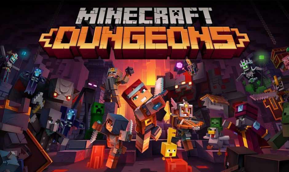 Minecraft Dungeons: annunciato il periodo del cross-play e del nuovo DLC