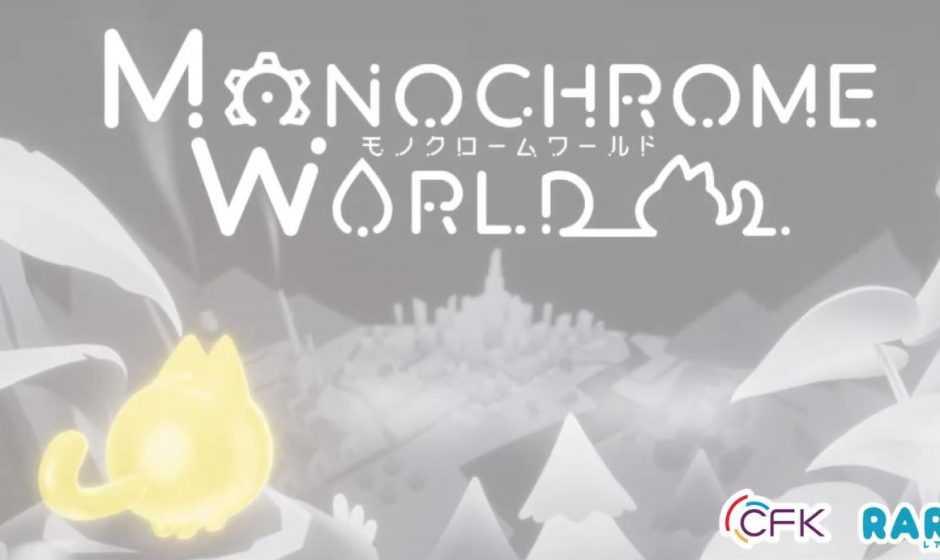 Monochrome World: annunciato un nuovo puzzle game d'azione