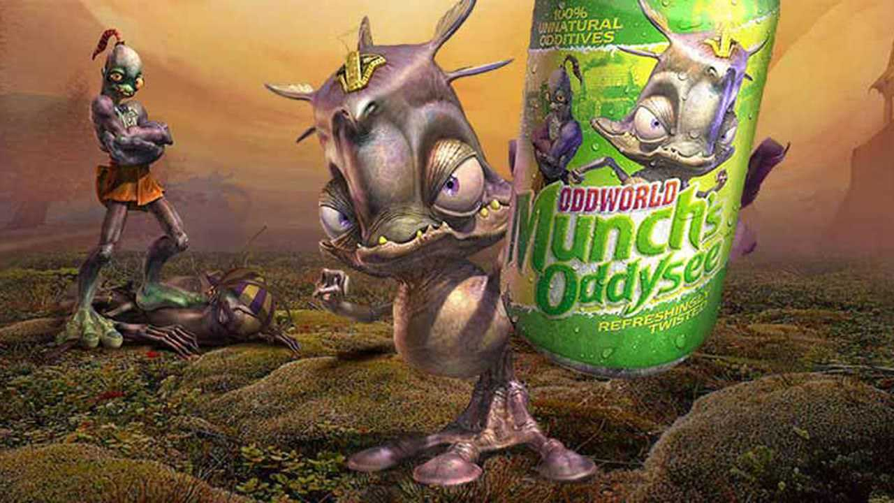 Oddworld: Munch's Oddysee arriva su Nintendo Switch!
