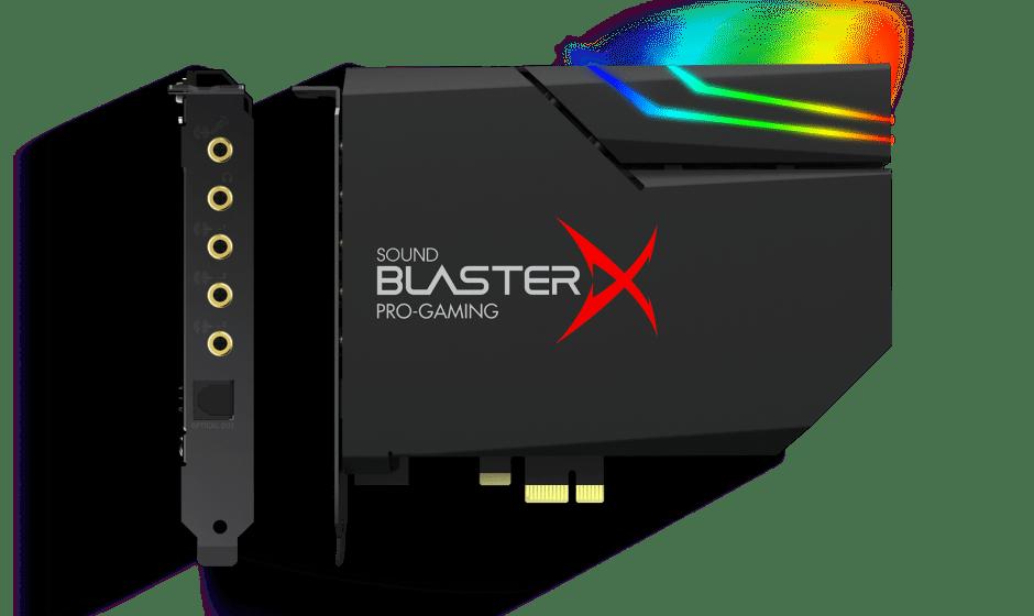 Creative: ecco Sound BlasterX AE-5 Plus, la nuova scheda audio per il gaming