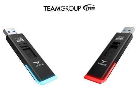 Team Group T-FORCE SPARK: anche le pendrive USB diventano RGB