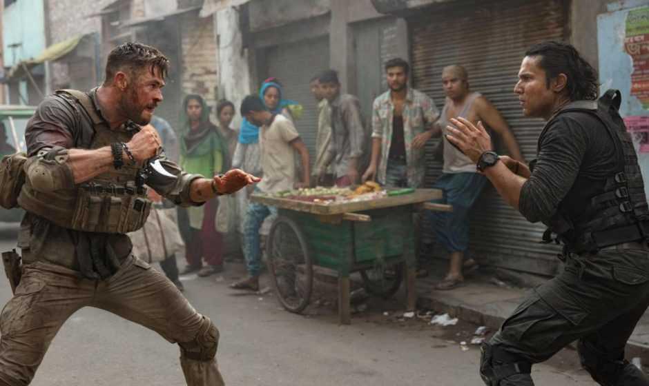 Tyler Rake: Chris Hemsworth e i fan indiani