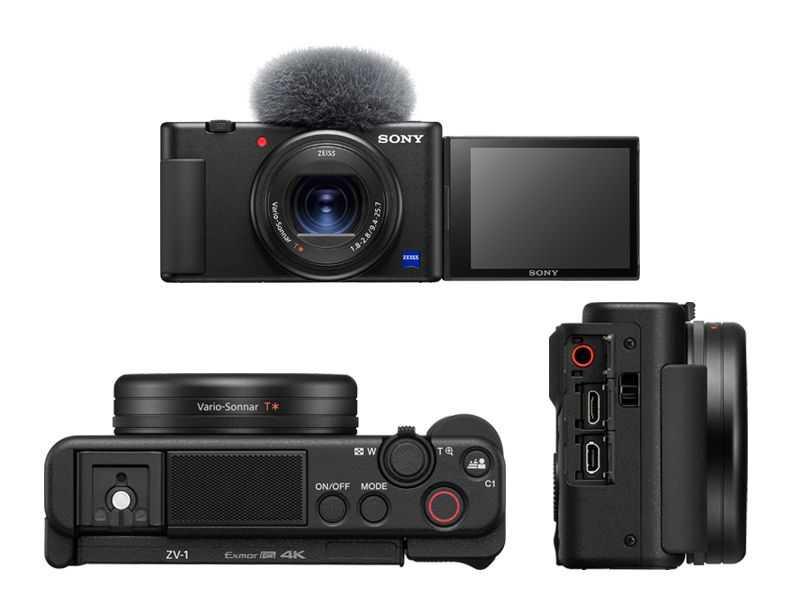 Sony ZV1: la prima compatta dedicata ai video?