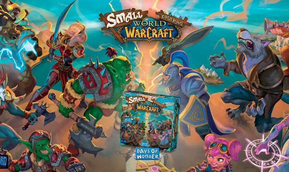 Small World of Warcraft: il re degli MMORPG torna su tavolo