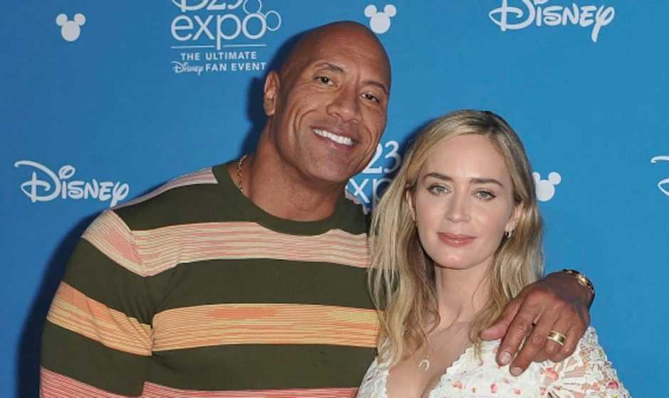 Ball and Chain, con Emily Blunt e The Rock, distribuito da Netflix