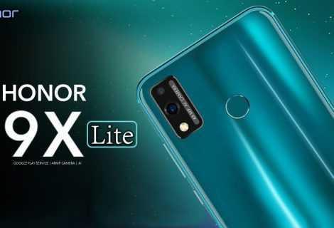 HONOR 9X Lite è disponibile in Italia: caratteristiche tecniche e prezzo