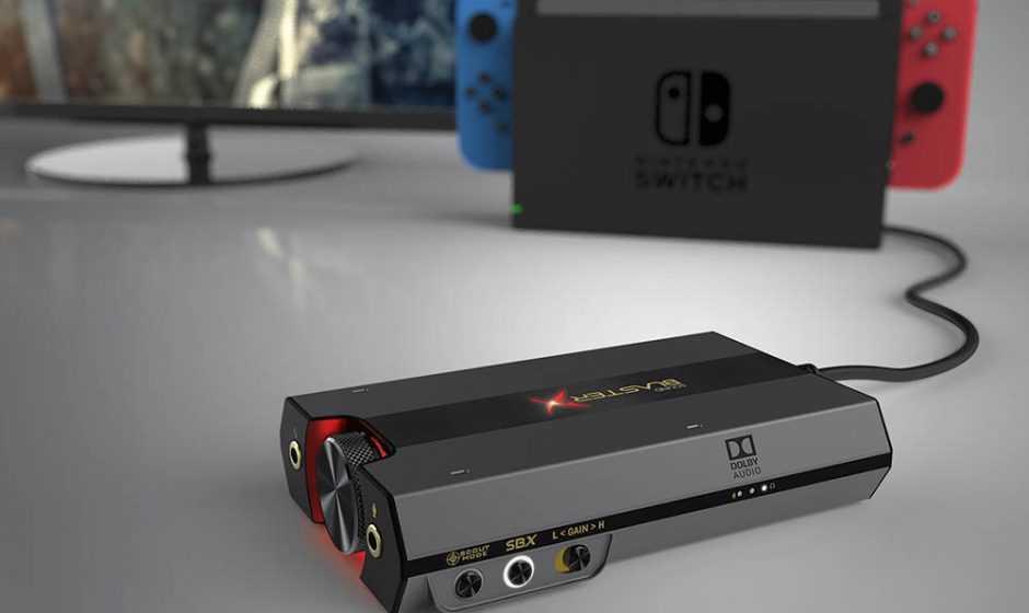 Sound BlasterX G6: Creative porta la sua scheda audio su console
