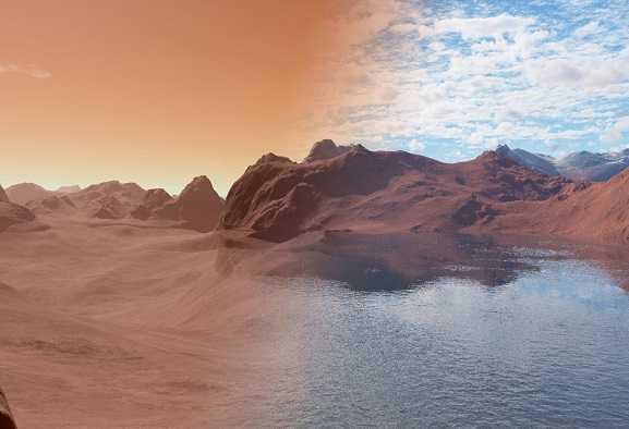 Marte: antichi fiumi in incredibile dettaglio