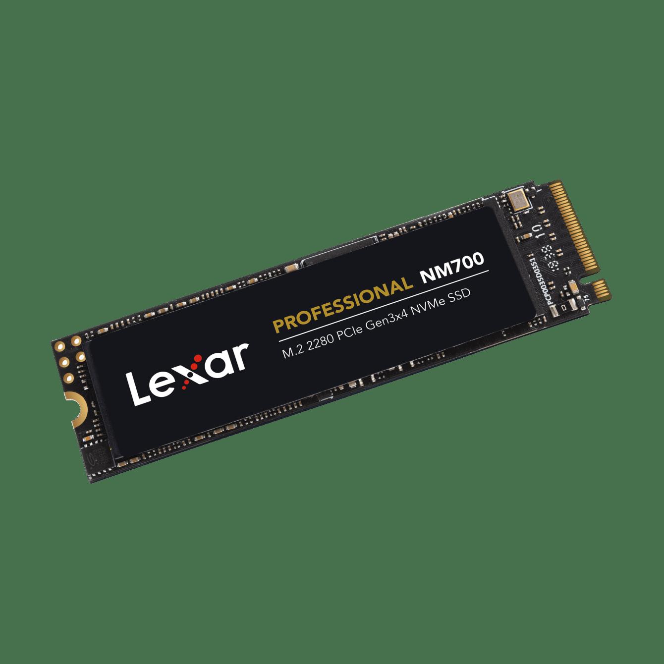 Lexar annuncia la nuova SSD Professional NM700 PCIe Gen3x4 NVMe