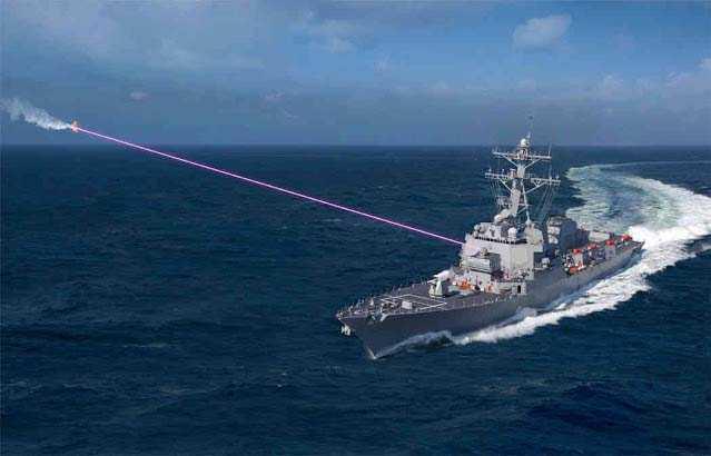 Armi laser: nuova tecnologia testata negli USA