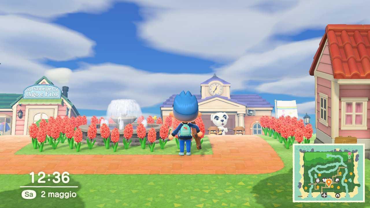 Animal Crossing: New Horizons i pesci e gli insetti di Maggio